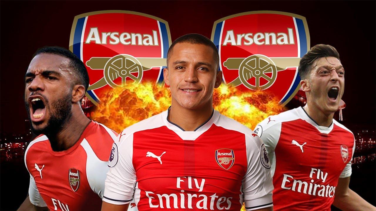 Arsenal front three