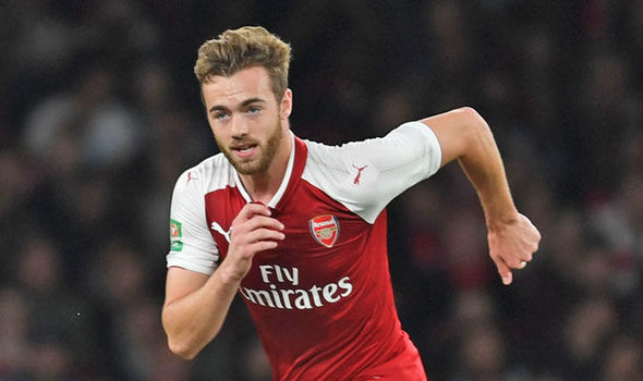 Arsenal defender Calum Chambers