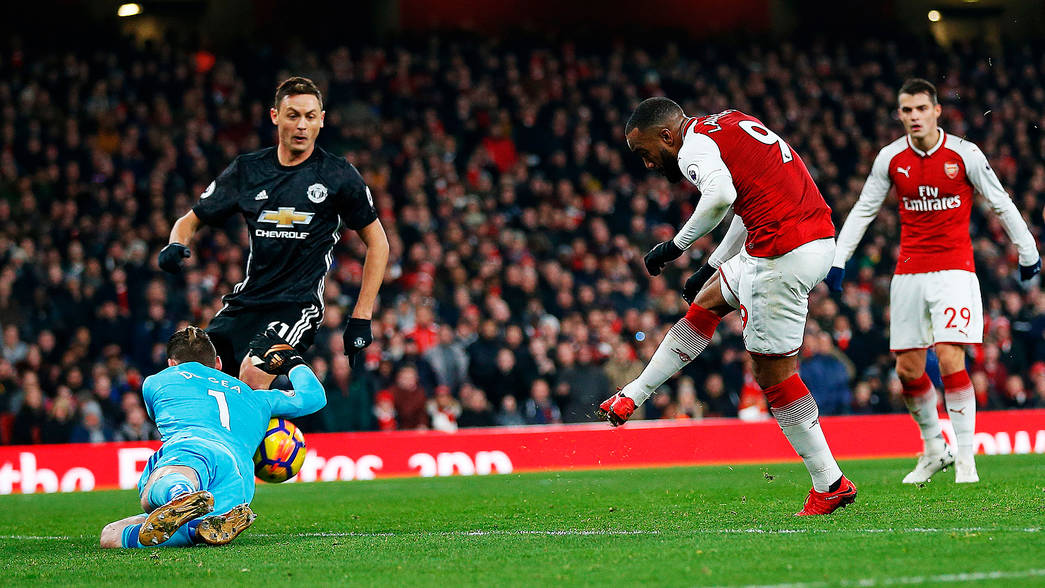 Arsenal 1 Manchester United 3