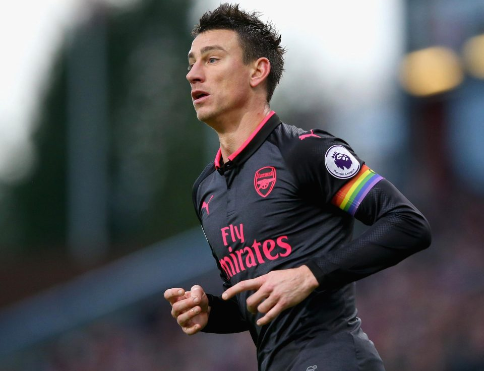 Arsenal defender Laurent Koscielny