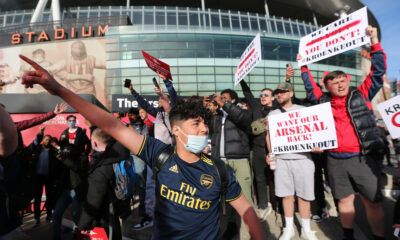 Arsenal protests